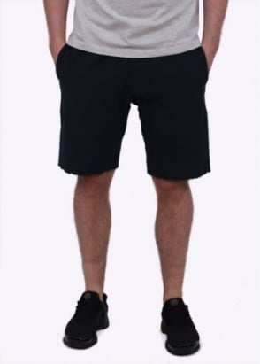 Champion Reverse Weave Classic Track Shorts - Navy Blue