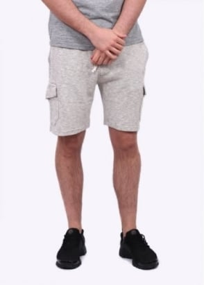 Champion x Todd Snyder Cargo Bermuda Shorts - Grey Heather