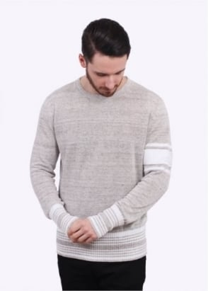 Vivienne Westwood Mens Wayne Roundneck Sweater - Grey