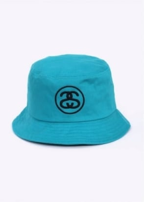 Stussy SS Link Bucket Hat - Teal