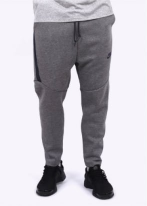 Nike Apparel Tech Fleece Cropped Pants - Grey