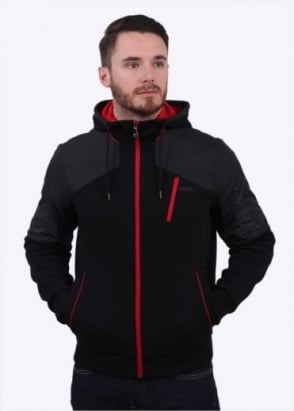 Hugo Boss Green Sivon Jacket - Black