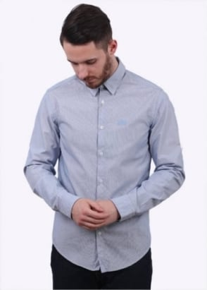 Hugo Boss Green C-Buster Shirt - Navy
