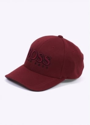 Hugo Boss Green Cap US - Dark Red