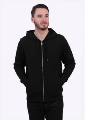 Paul Smith Hooded Zip Sweatshirt - Black