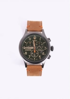 Timex Expedition Strap Watch - Tan / Green