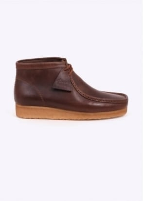 Clarks Originals Wallabee Boot Horween Leather - Camel