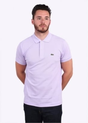 Lacoste SS Best Polo Shirt - Iris