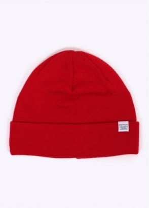 Norse Projects Top Beanie - Oxide