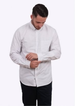 Norse Projects Anton Oxford Shirt - Light Grey