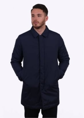 Norse Projects Thor Padded Coat - Navy