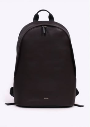 Paul Smith Leather City Web Bag - Dark Brown