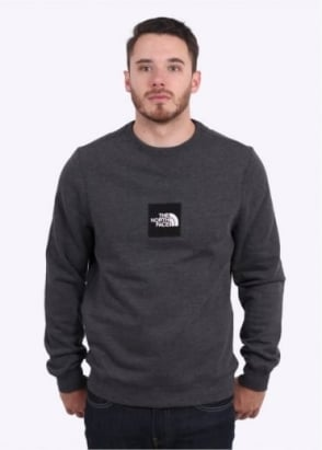 The North Face Fine Crew Sweat - Dark Grey