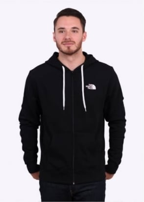 The North Face Open Gate Zip Hoodie - Black / White