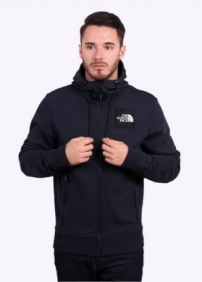The North Face Fine Zip Hoodie - Urban Navy