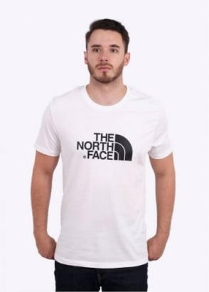 The North Face SS Easy Tee - White