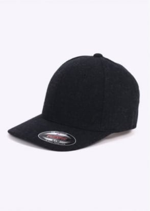 The North Face Wool Flexfit Ball Cap - Black