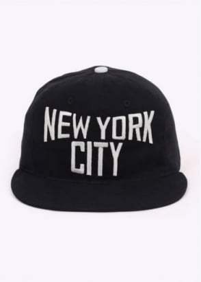 Ebbets Field Flannels New York Cap - Black