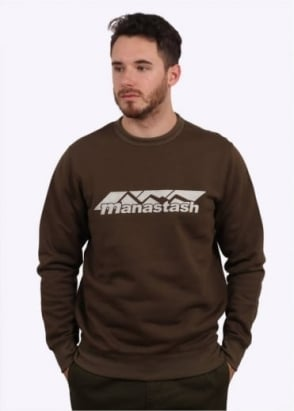 Manastash Logo Sweat - Olive