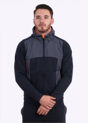 Hugo Boss Green Sivon Hooded Jacket - Navy