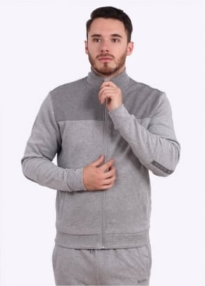Hugo Boss Selwyn Track Jacket - Light Grey