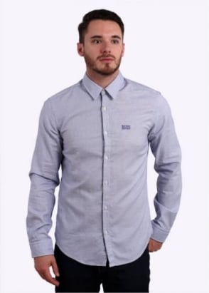 Hugo Boss Green C-Buster Shirt - Open Blue