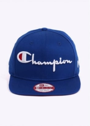 Champion x New Era 9 Fifty Original Fit - Blue