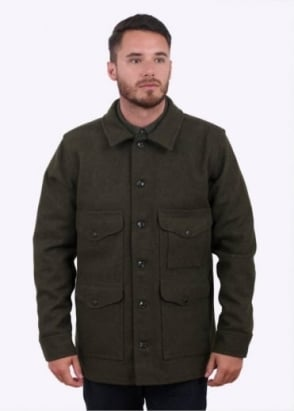 Filson Mackinaw Cruiser Jacket - Forest Green