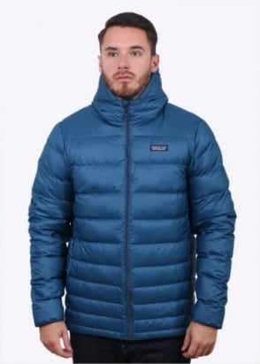 Patagonia Hi-Loft Down Hoody - Glass Blue