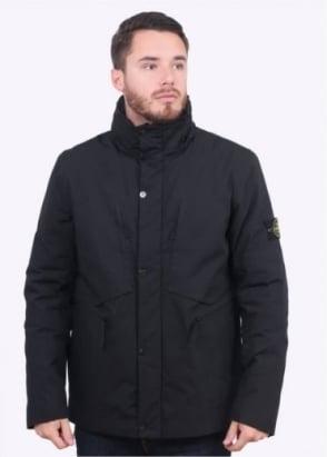 Stone Island Water Repellent Jacket - Black