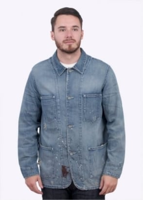 Levi's Vintage Clothing Lot 67 Sack Coat - Blue
