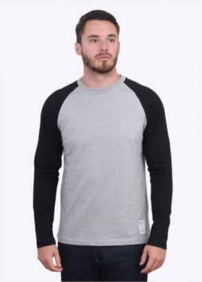 Carhartt Long Sleeve Dodgers T-Shirt - Heather Grey