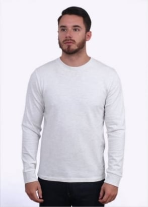 Carhartt Long Sleeve Holbrook T-Shirt - Snow Noise