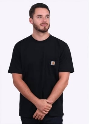 Carhartt SS Pocket Tee - Black