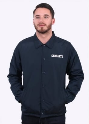 Carhartt College Coach Jacket - Navy