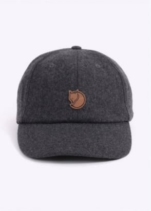 Fjallraven Ovik Wool Cap - Dark Grey