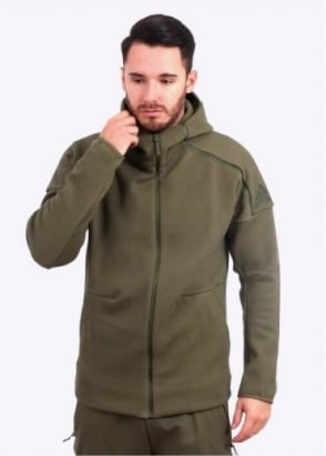 Adidas Originals Apparel ZNE Hoody - Olive