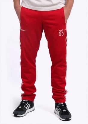 Adidas Originals Apparel 83-C Track Pants - Red