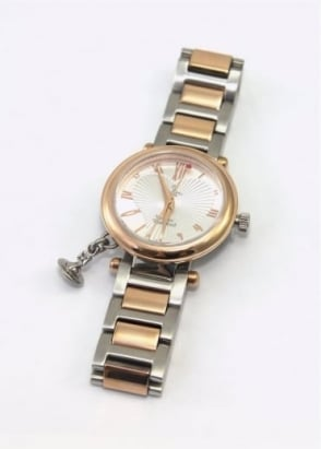 Vivienne Westwood Ladies Watches Orb Watch Rose/Silver