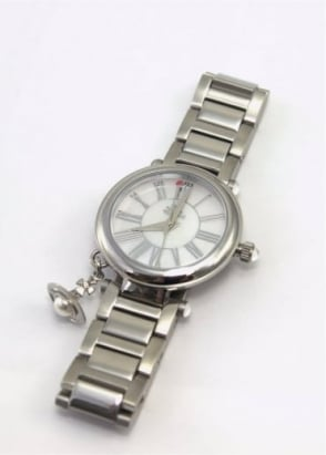 Vivienne Westwood Ladies Watches Mother Orb Watch Silver