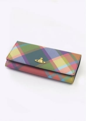 Vivienne Westwood Accessories Derby Purse Harlequin