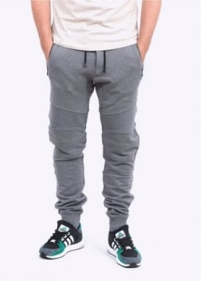 Belstaff Ashdown Moto Fleece Pants - Mid Grey