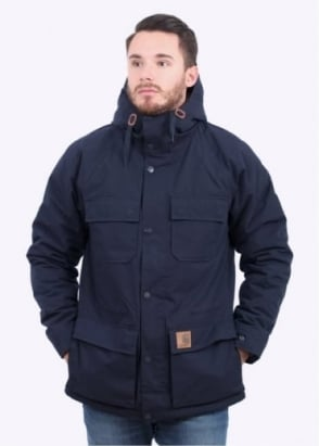 Carhartt Mentley Jacket - Navy