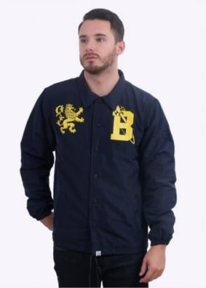 Billionaire Boys Club Crest Coach Jacket - Navy