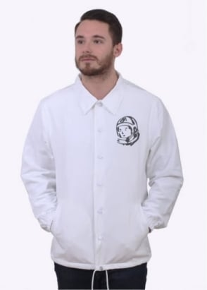 Billionaire Boys Club Classic Logo Coach Jacket - White