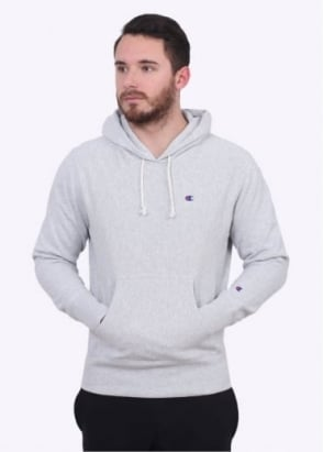 Champion Hooded Sweatshirt - Grey