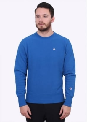 Champion Classic Crew Sweater - Blue