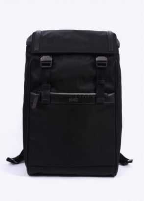 Hugo Boss Accessories Digital L Backpack - Black