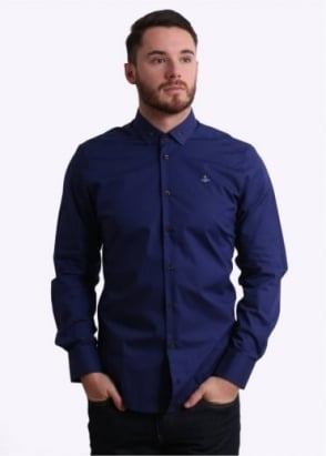 Vivienne Westwood Krall Polo Shirt - Blue Royal
