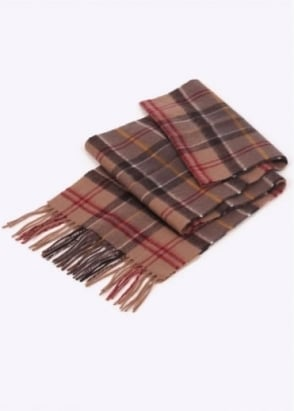 Barbour Merino Cashmere Scarf - Muted